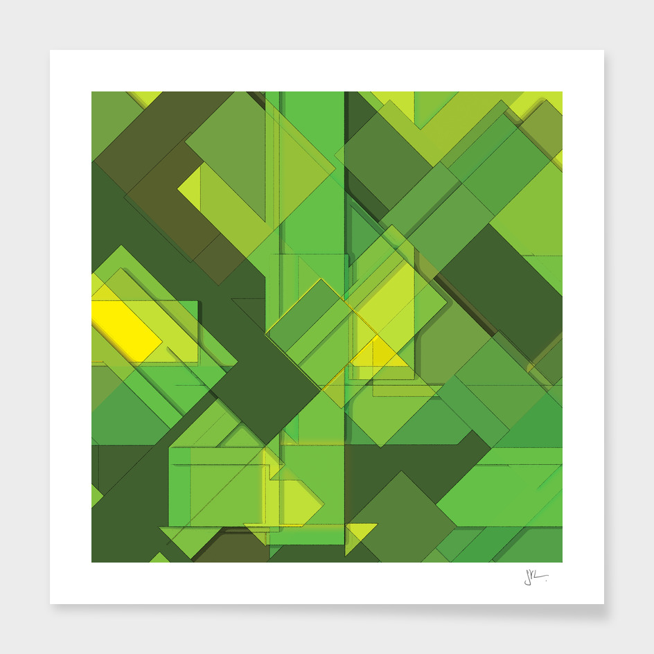 So Abstract, So Green