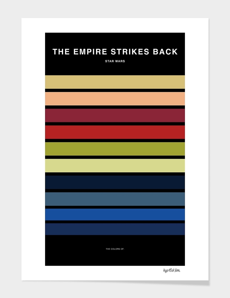 Colors of Star Wars - The Empire Strikes Back