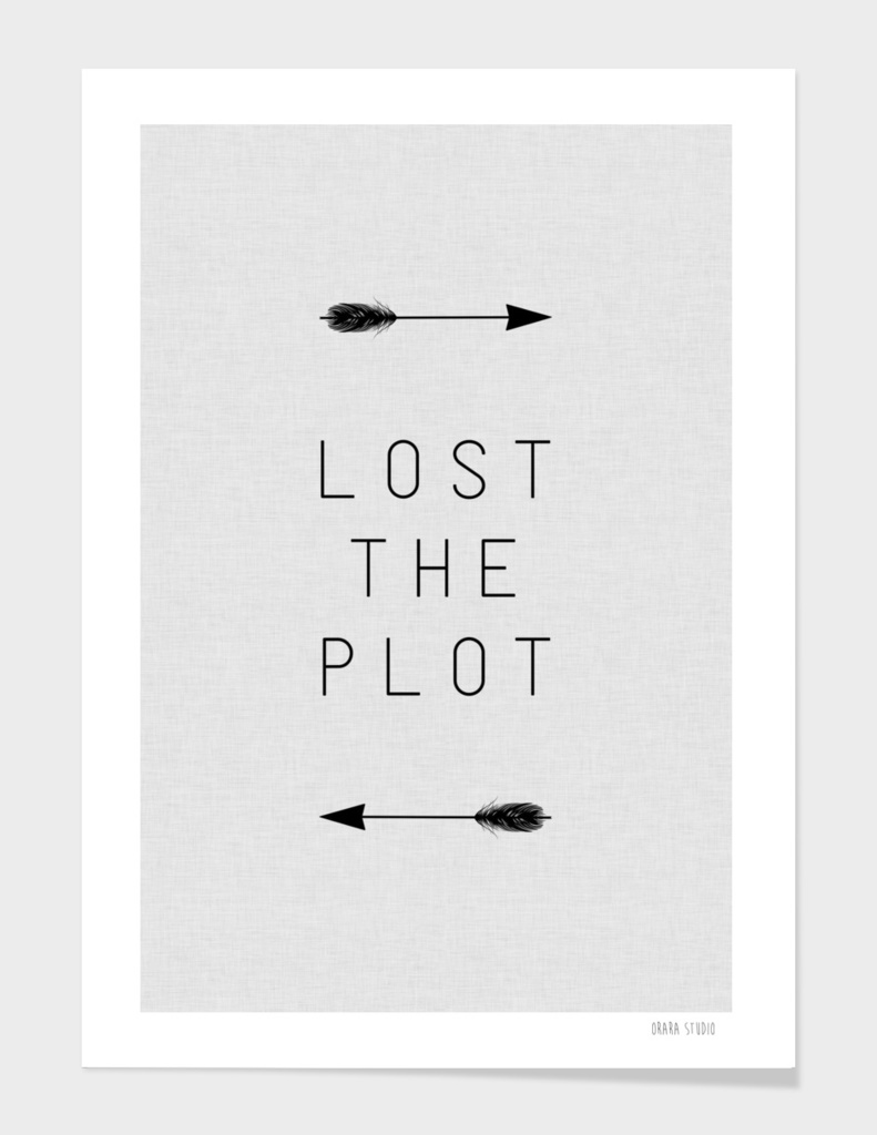 Lost The Plot Arrow