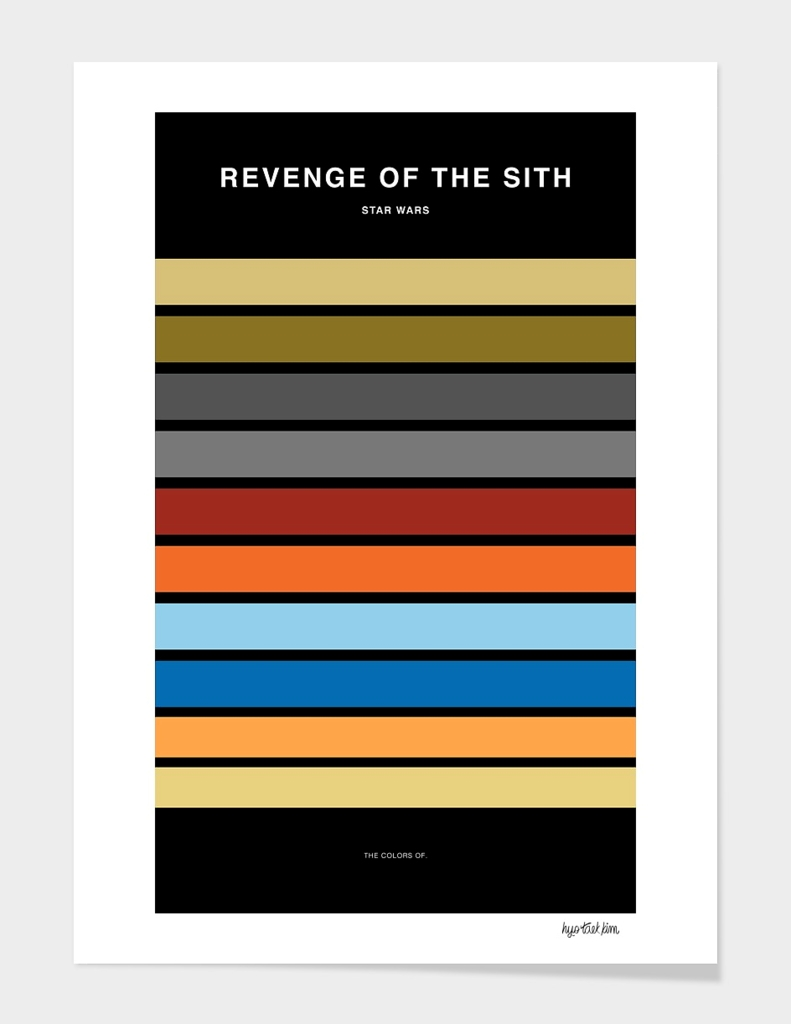Colors of Star Wars - Revenge of the Sith