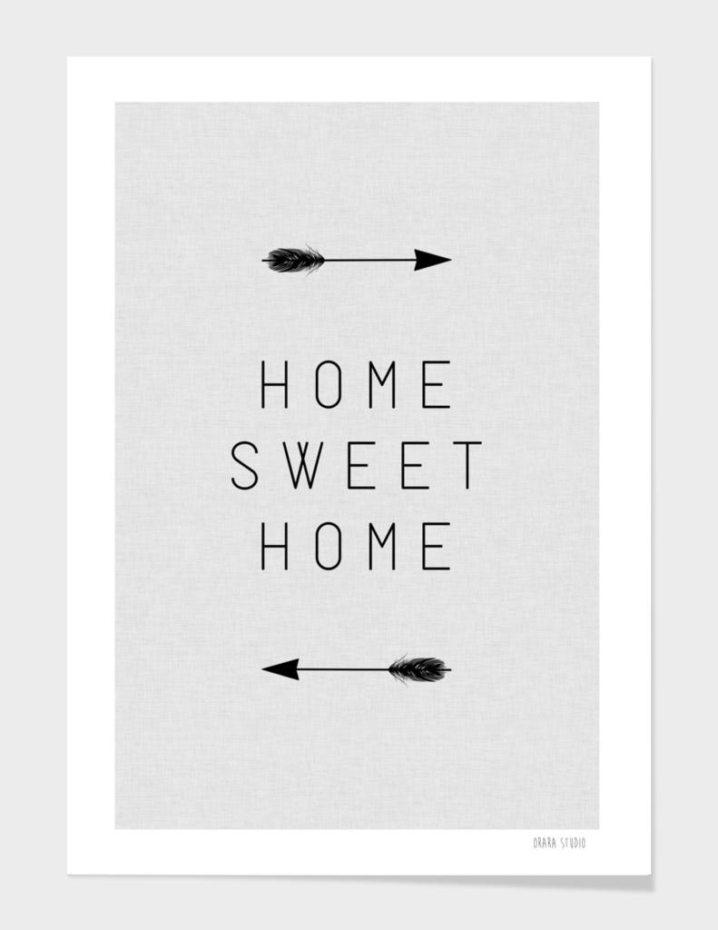 Home Sweet Home Arrow