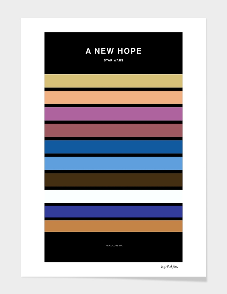 Colors of Star Wars - A New Hope