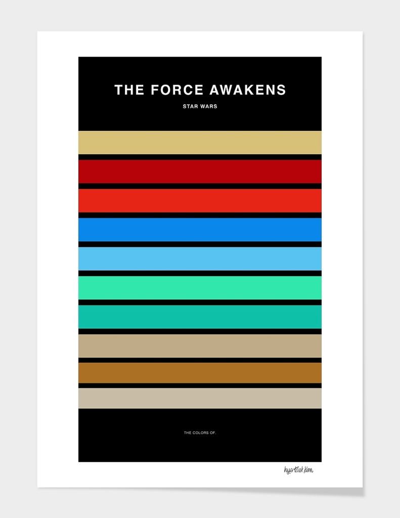 Colors of Star Wars - The Force Awakens