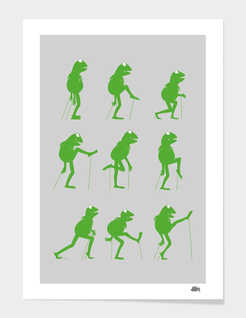 Ministry of Frog Silly Walks