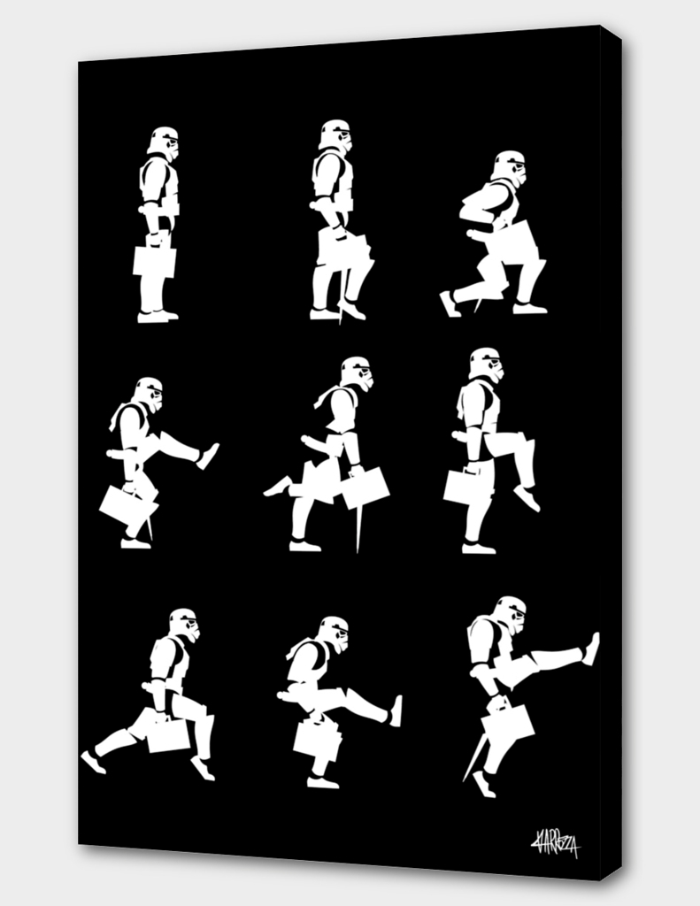 Ministry of Trooper Silly Walks