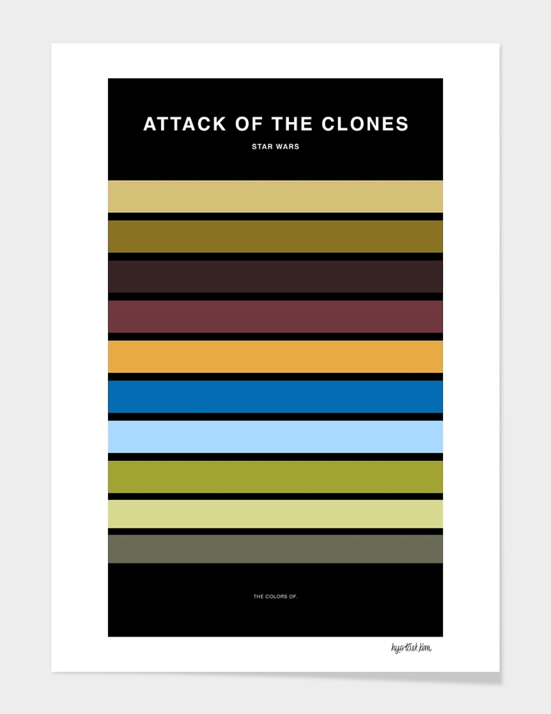 Colors of Star Wars - Attack of the Clones