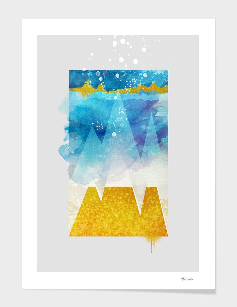 geometric 2 - Happy Winter