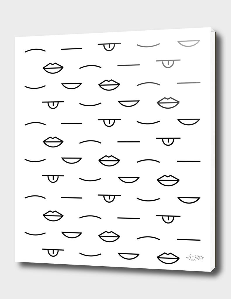 Mouths pattern