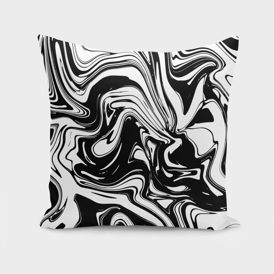 Liquid Marble B&W 028