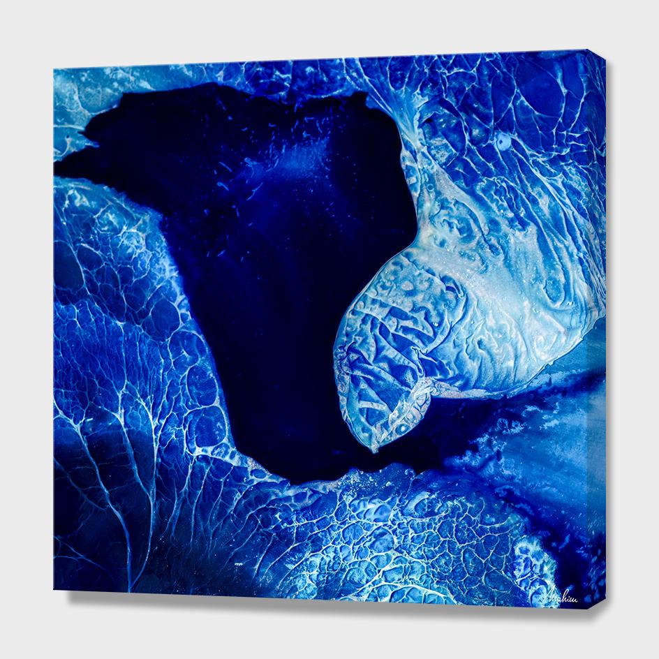 Blue Lake (detail)