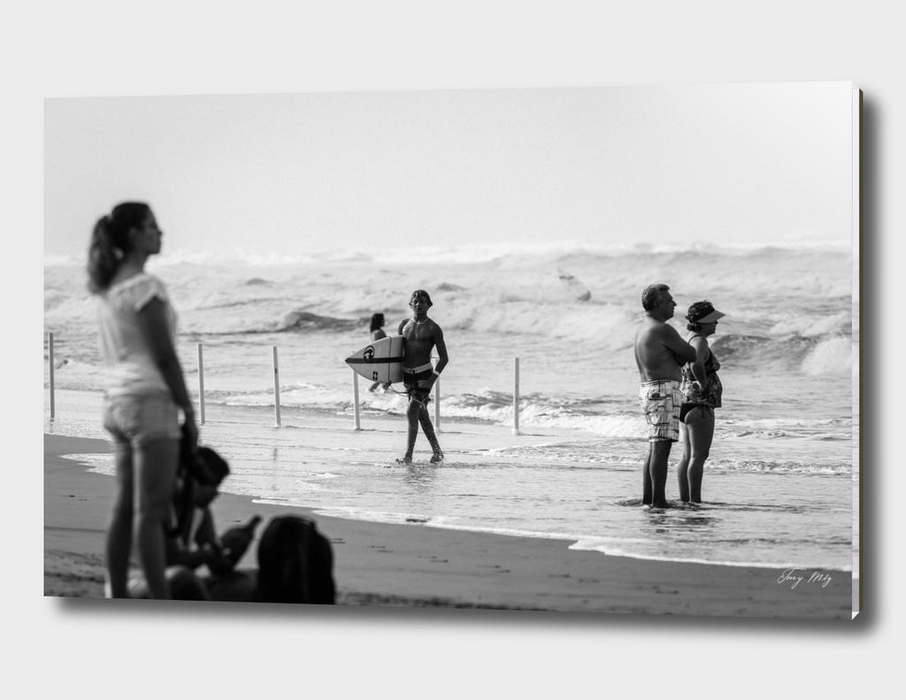 B/W Beach Fine Art