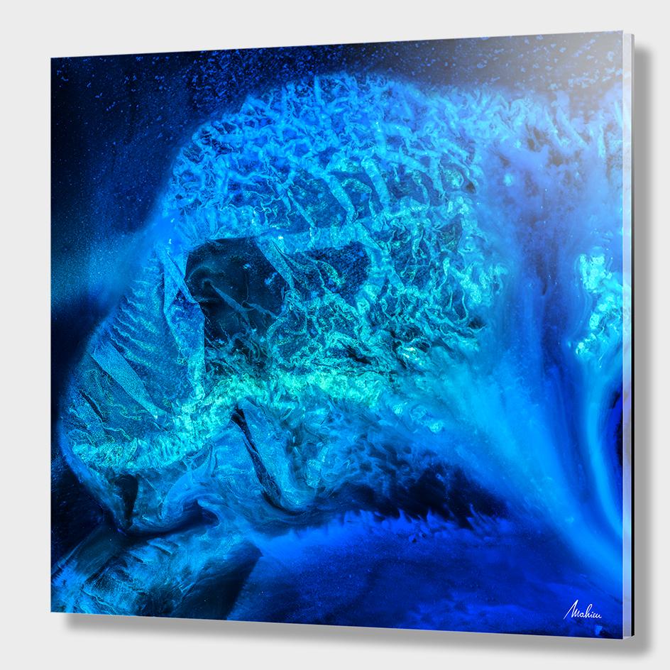 Blue Medusa (detail)