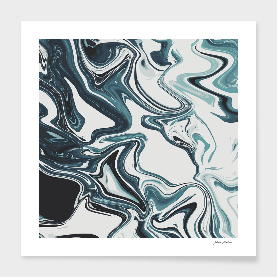 Liquid Marble Blues 023