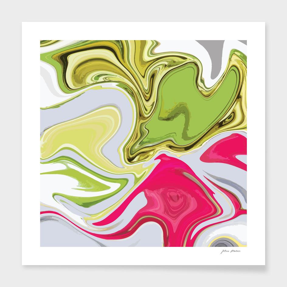 Liquid Marble Vibrant 013