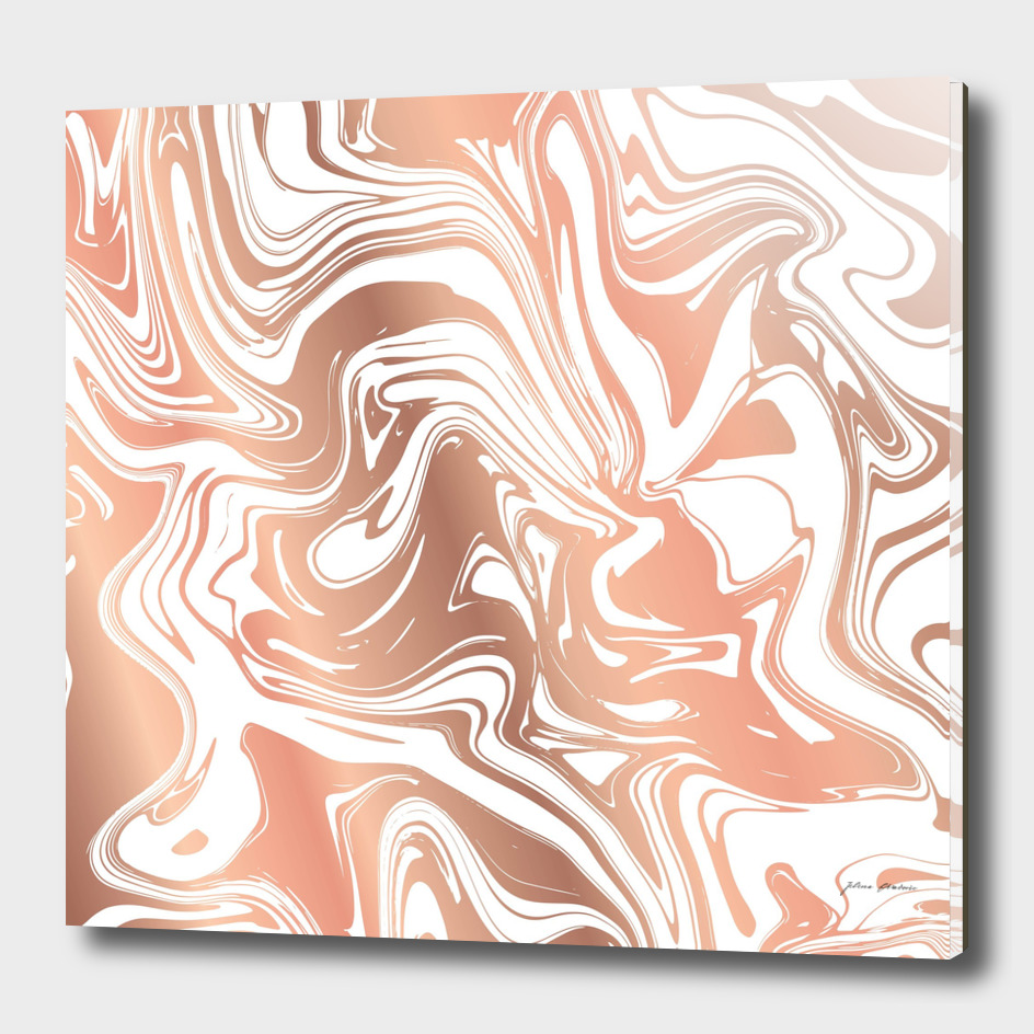 Liquid Copper Marble 029