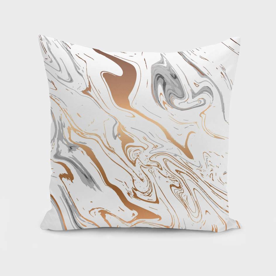 Liquid Golden Marble 007