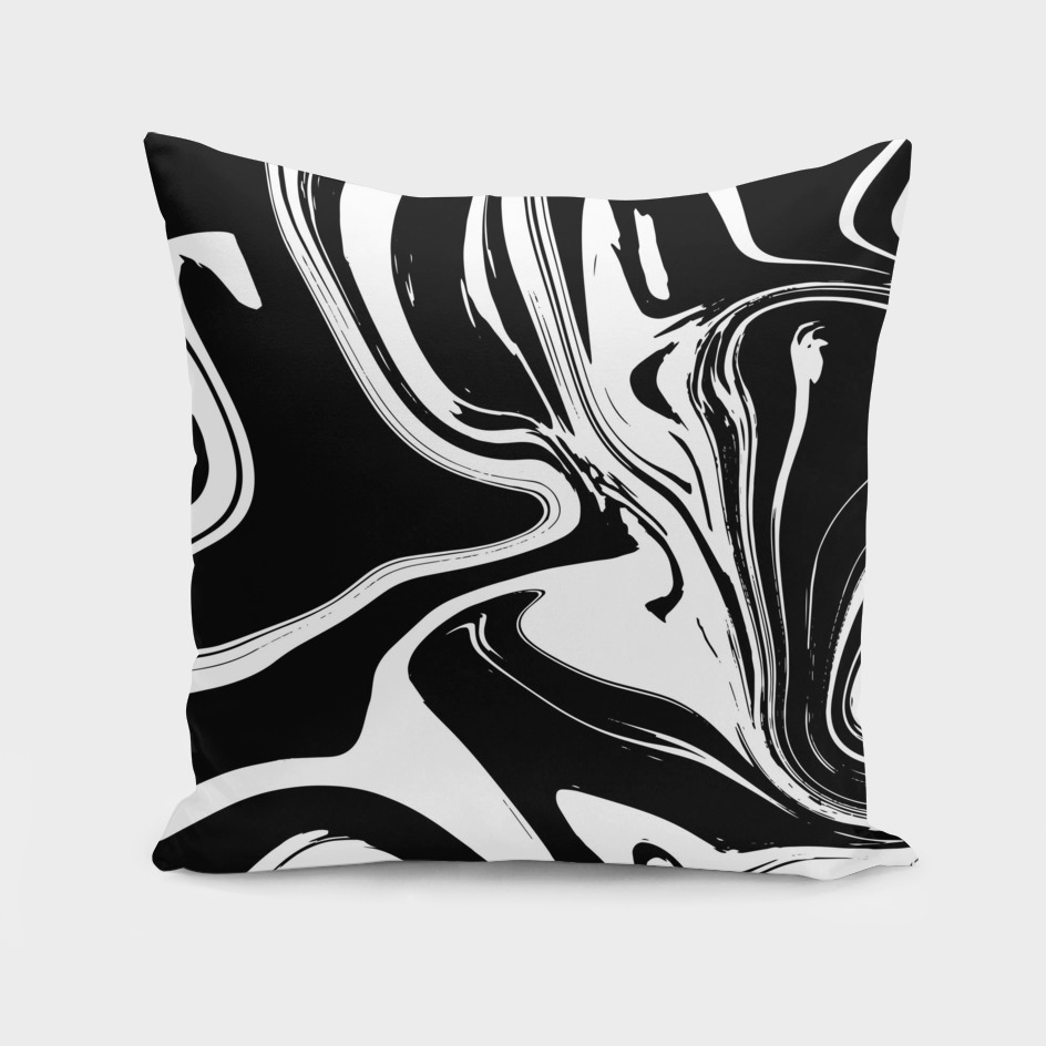 Monochrome Liquid Marble 026