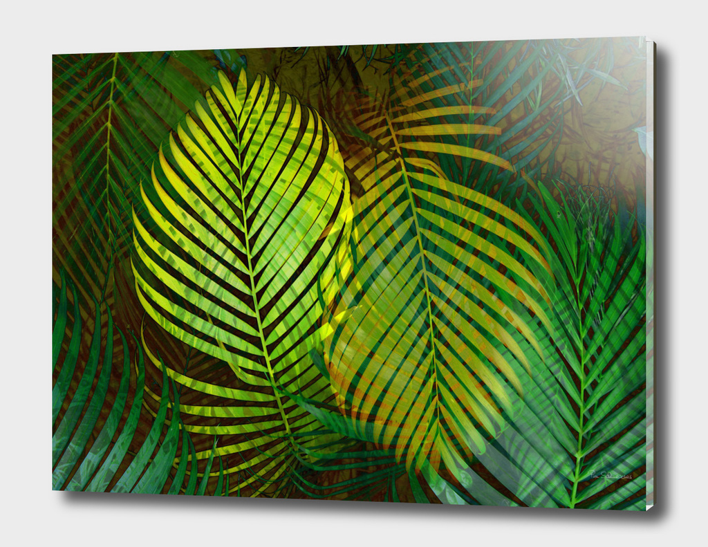 TROPICAL GREENERY LEAVES