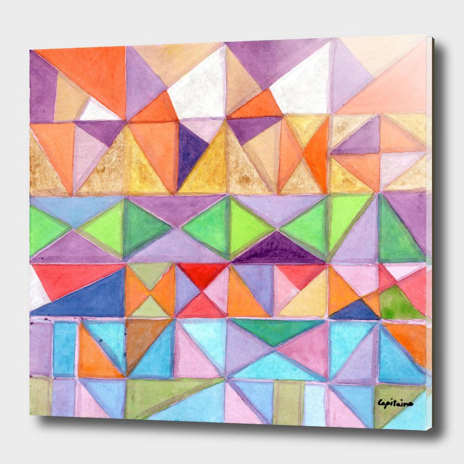 Fresh and Warm Triangle Pattern