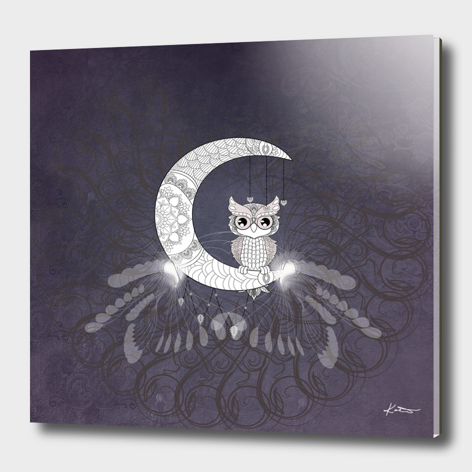 Mandala, wunderful owl