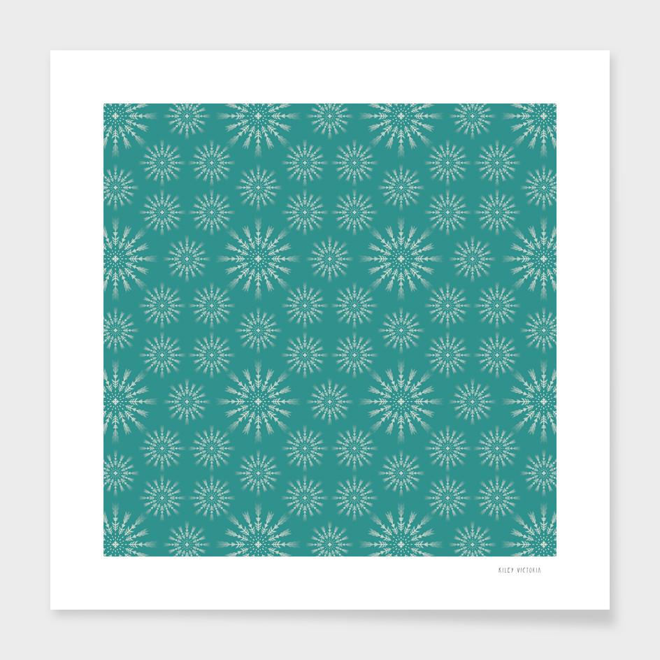 Green Snowfeather