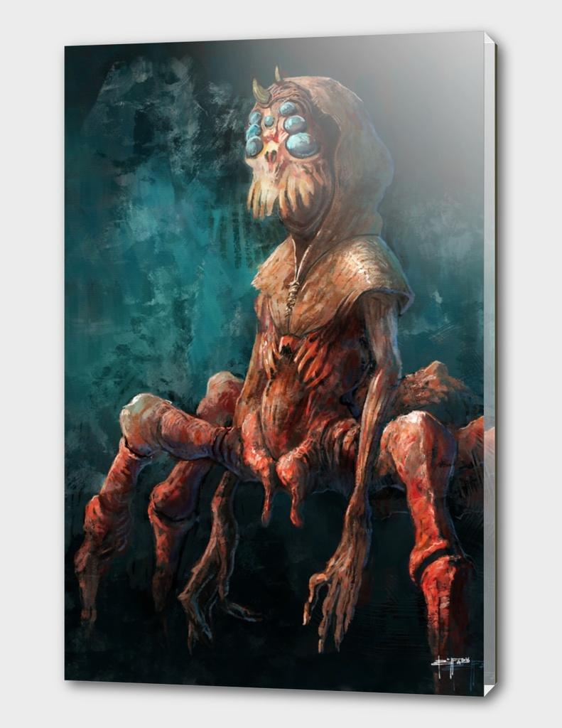 arachno red Alessandro Buffa