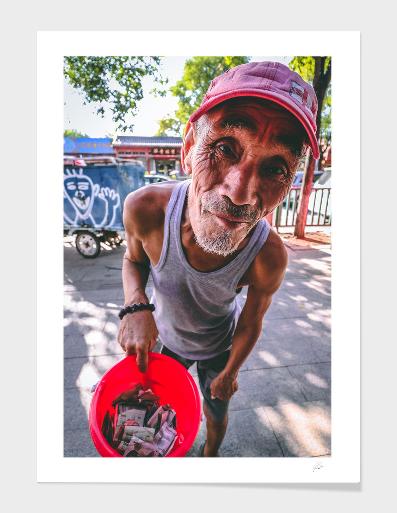 Homeless and Happy in Beijing