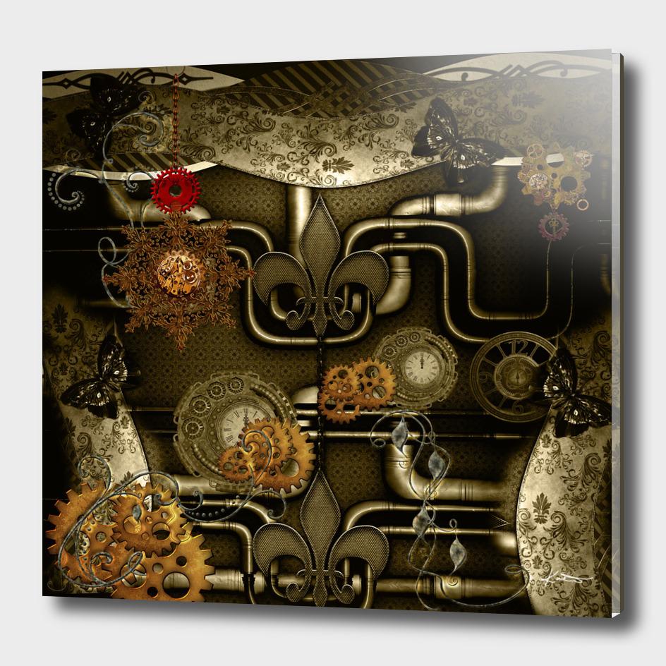 Wonderful noble steampunk design