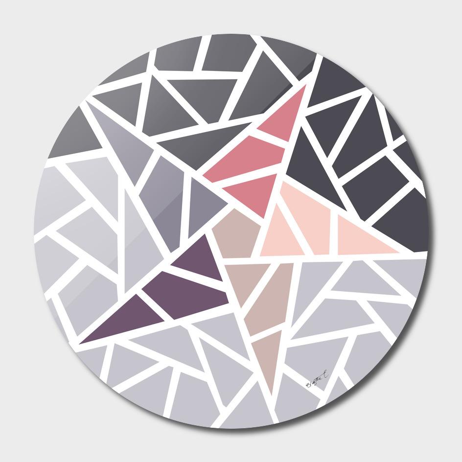 Contemporary Mosaic Star Design