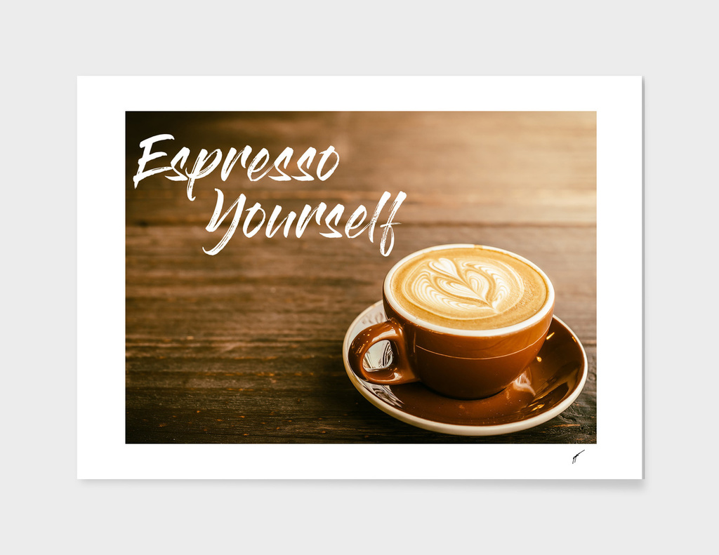 Coffee Poster 35 - Espresso yourself