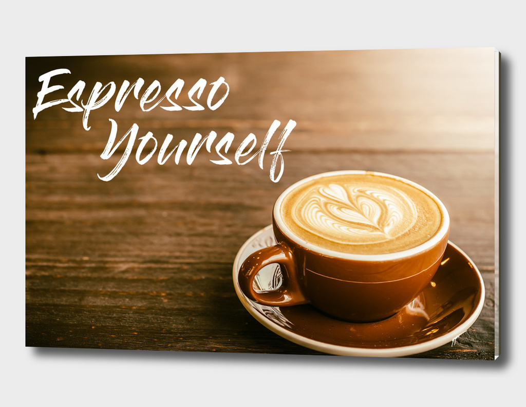 Coffee Poster 35 - Espresso yourself