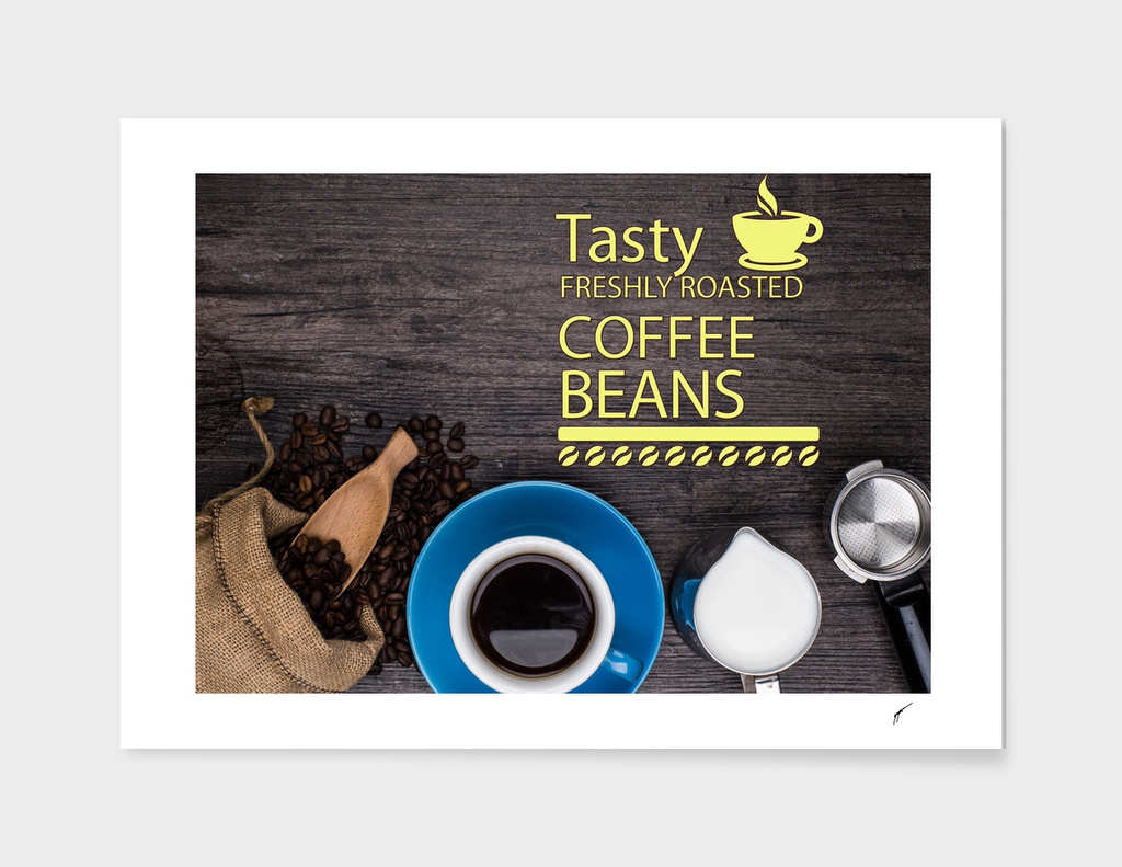 Coffee Poster 40 - Coffee Bean
