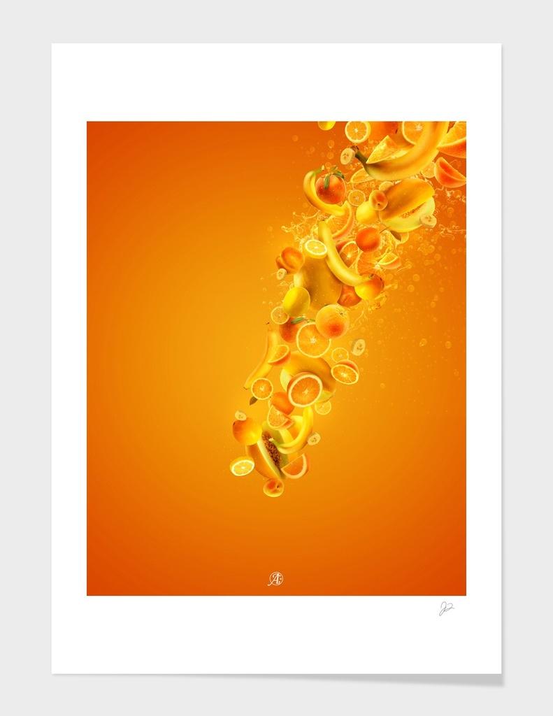 Fruitopia - Orange