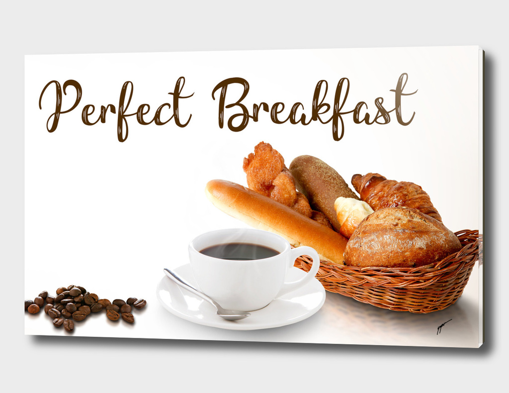Coffee Poster 45 - Perfect Breakfast