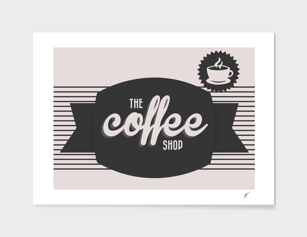 Coffee Poster 49 - Coffe Shop