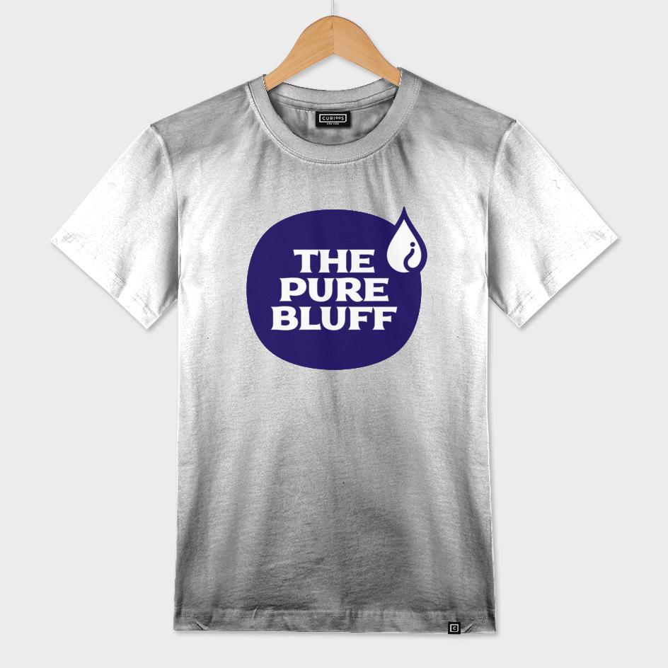 The Pure Bluff Logo (Blue) — APPAREL