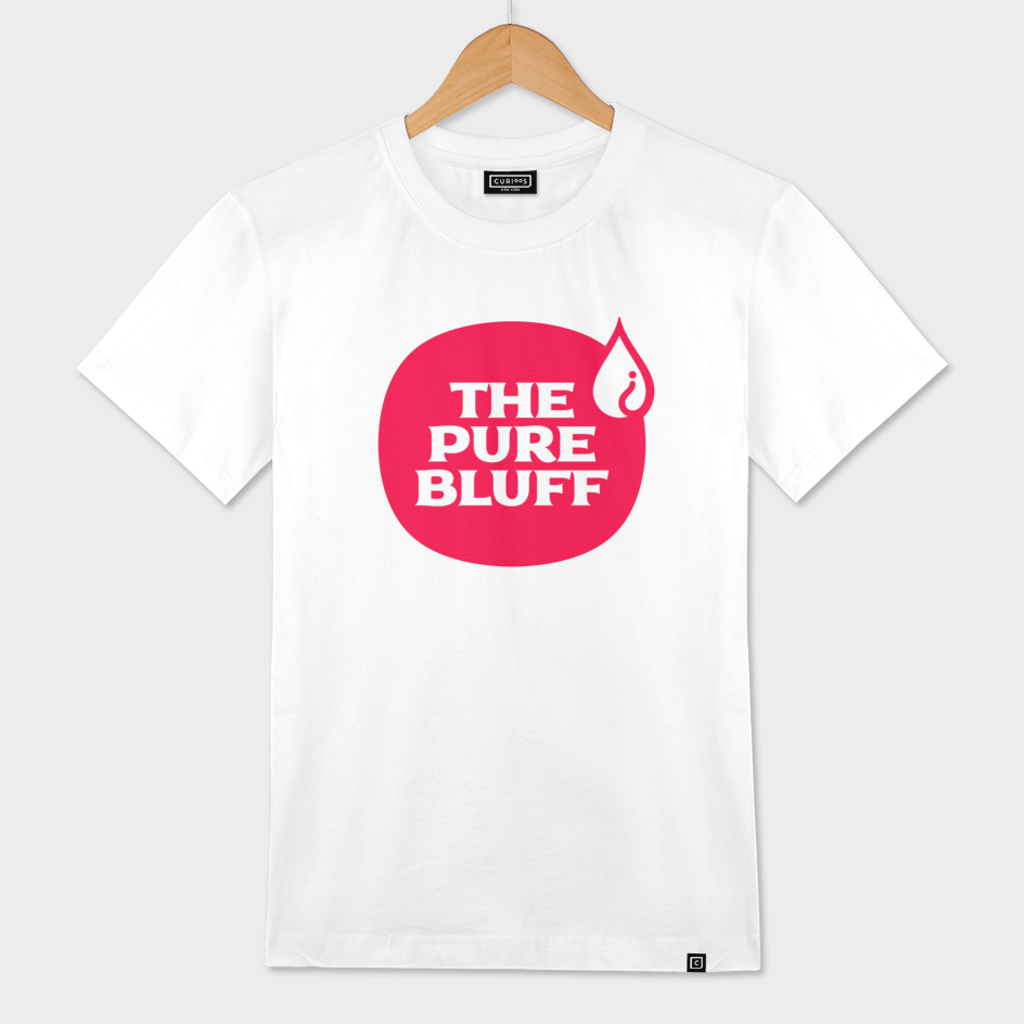 The Pure Bluff Logo (Red) — APPAREL