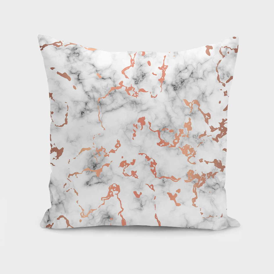 Marble Texture with Copper Splatter 041