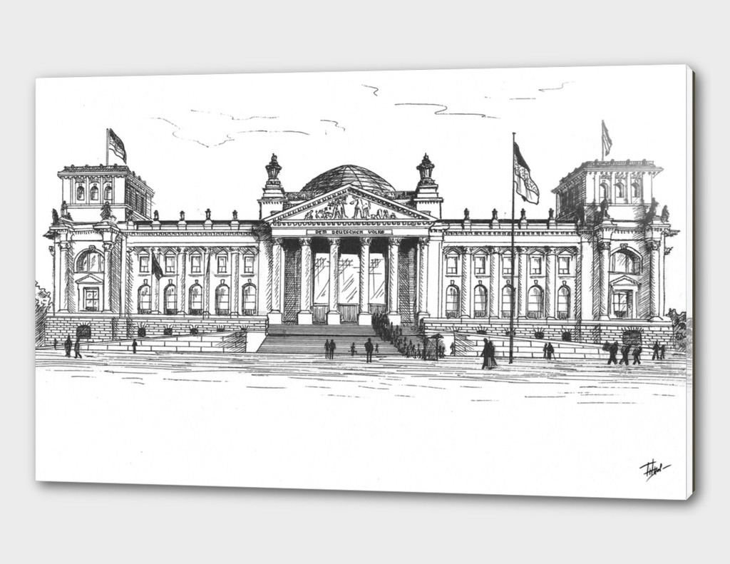 Berlin. Reichstag
