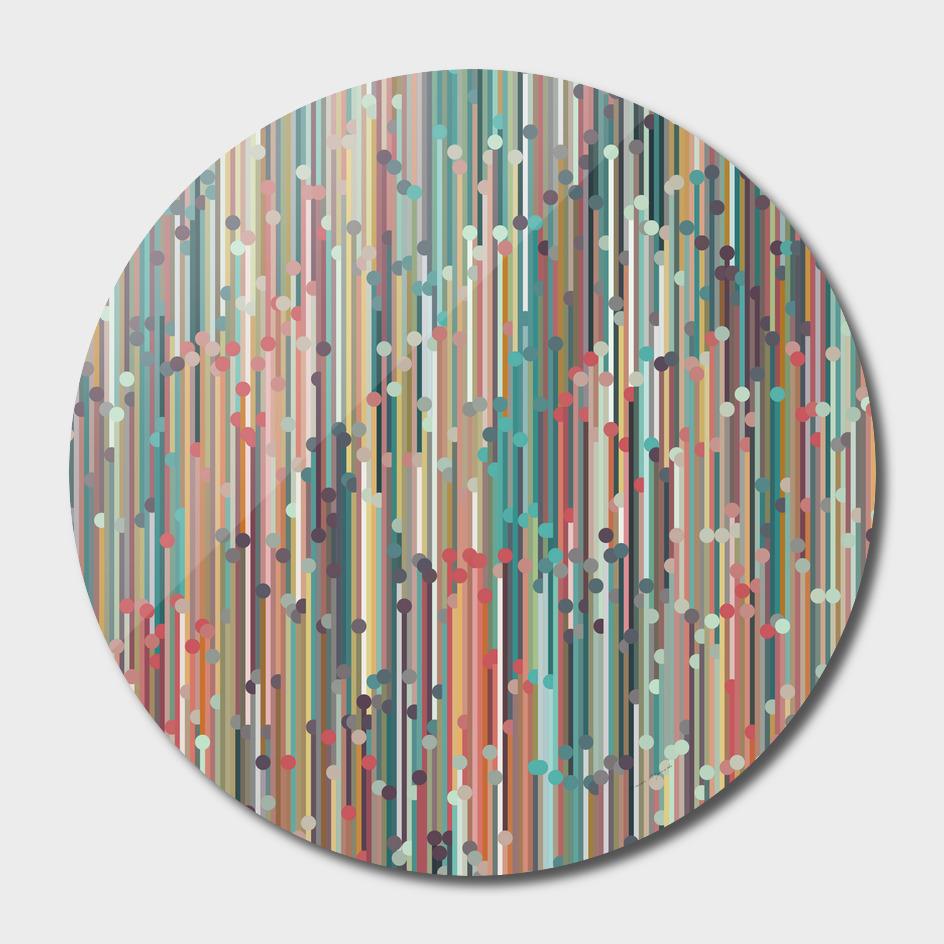 vertical behance line polka dot grey blue brown