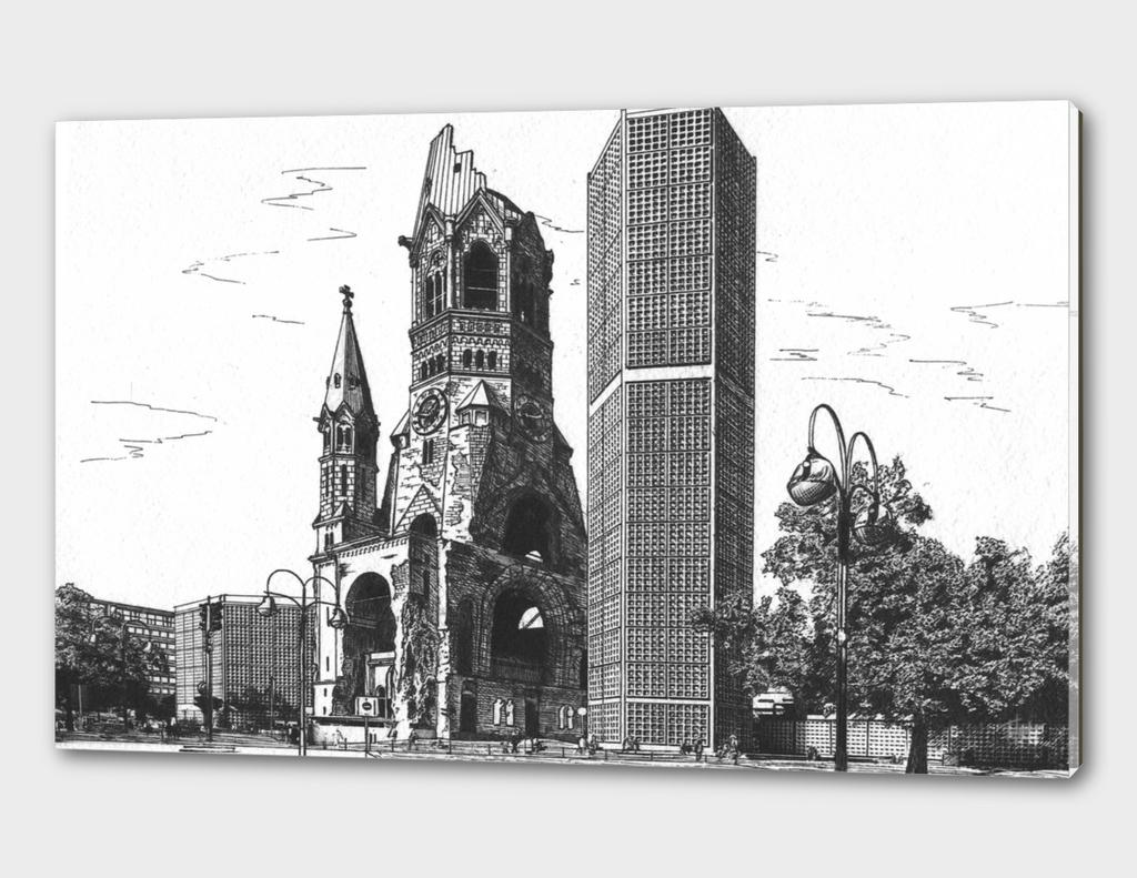 Berlin. Kirche am Zoo