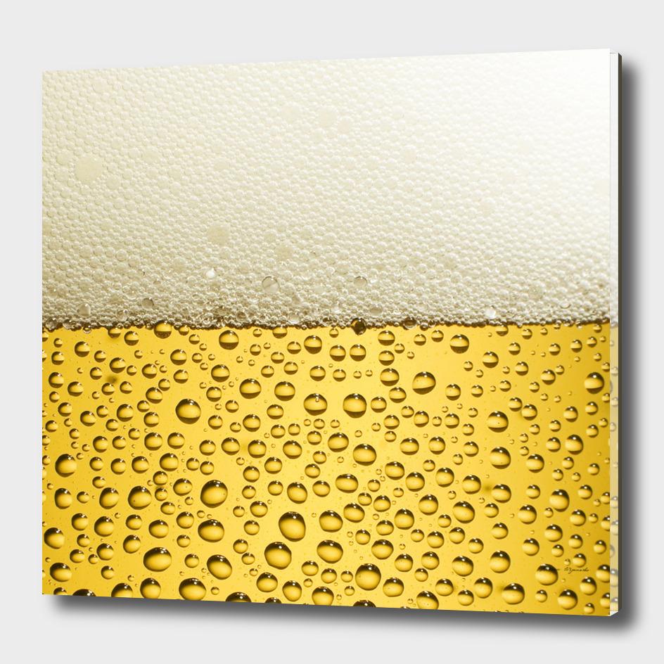 water bubbel foam yellow white drink