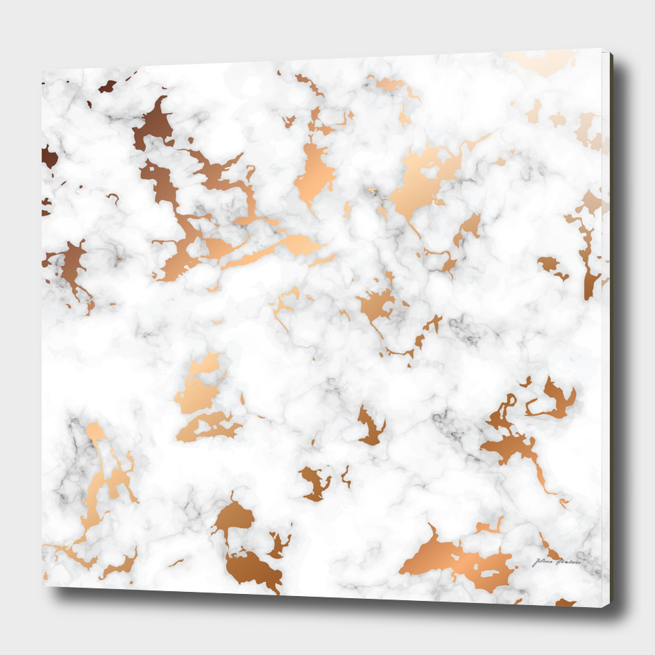 Marble Texture with Gold Splatter 040