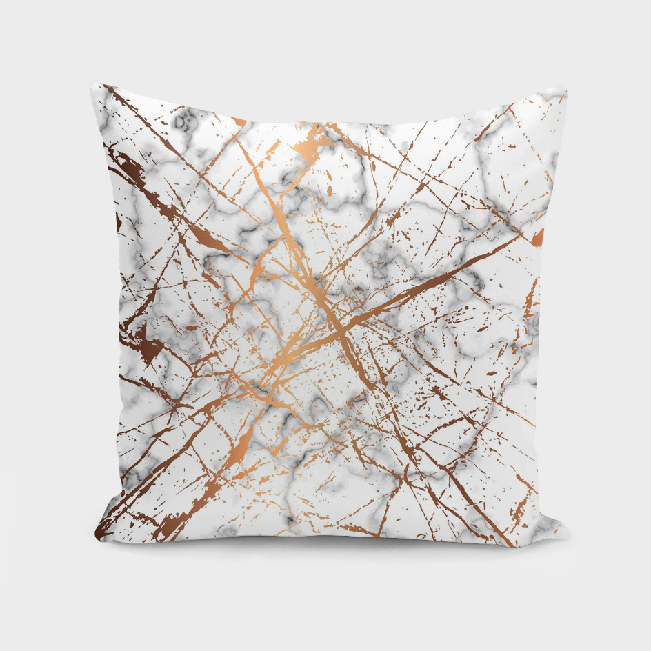 Marble Texture and Gold Splatter 039
