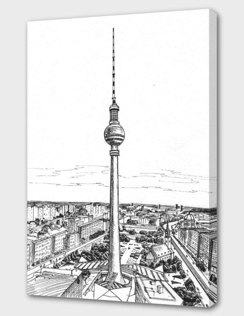 Berlin. Alexander Platz