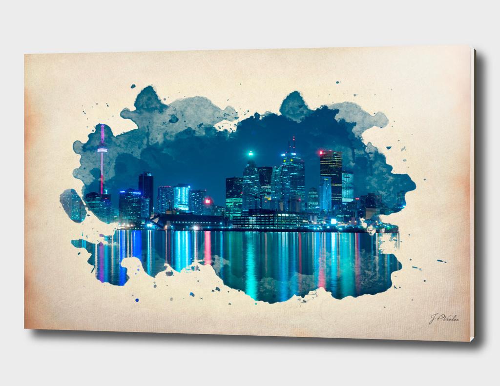 Toronto watercolor