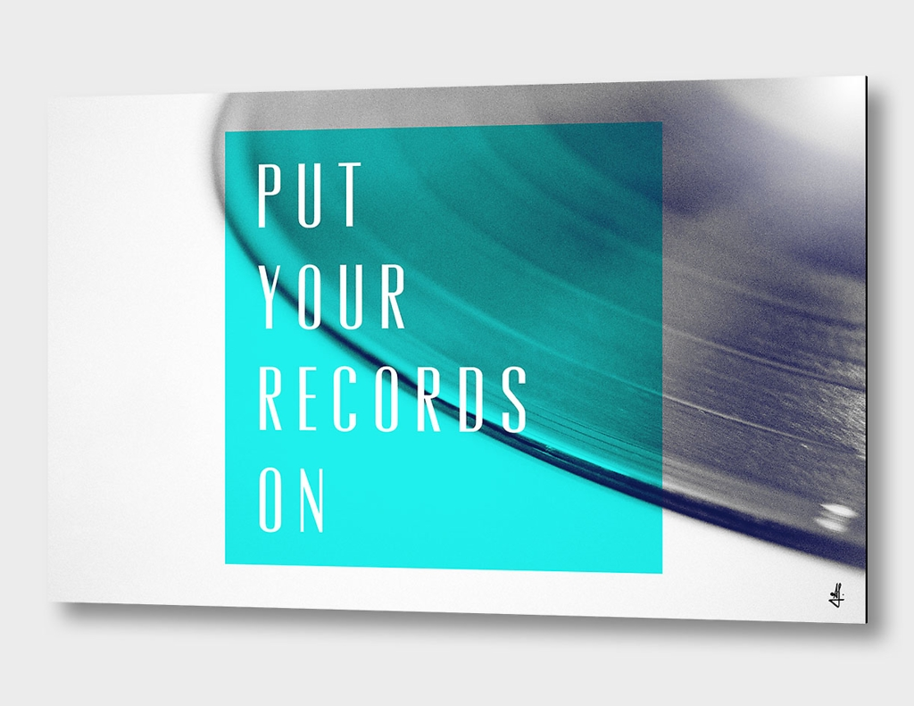Records - Blue