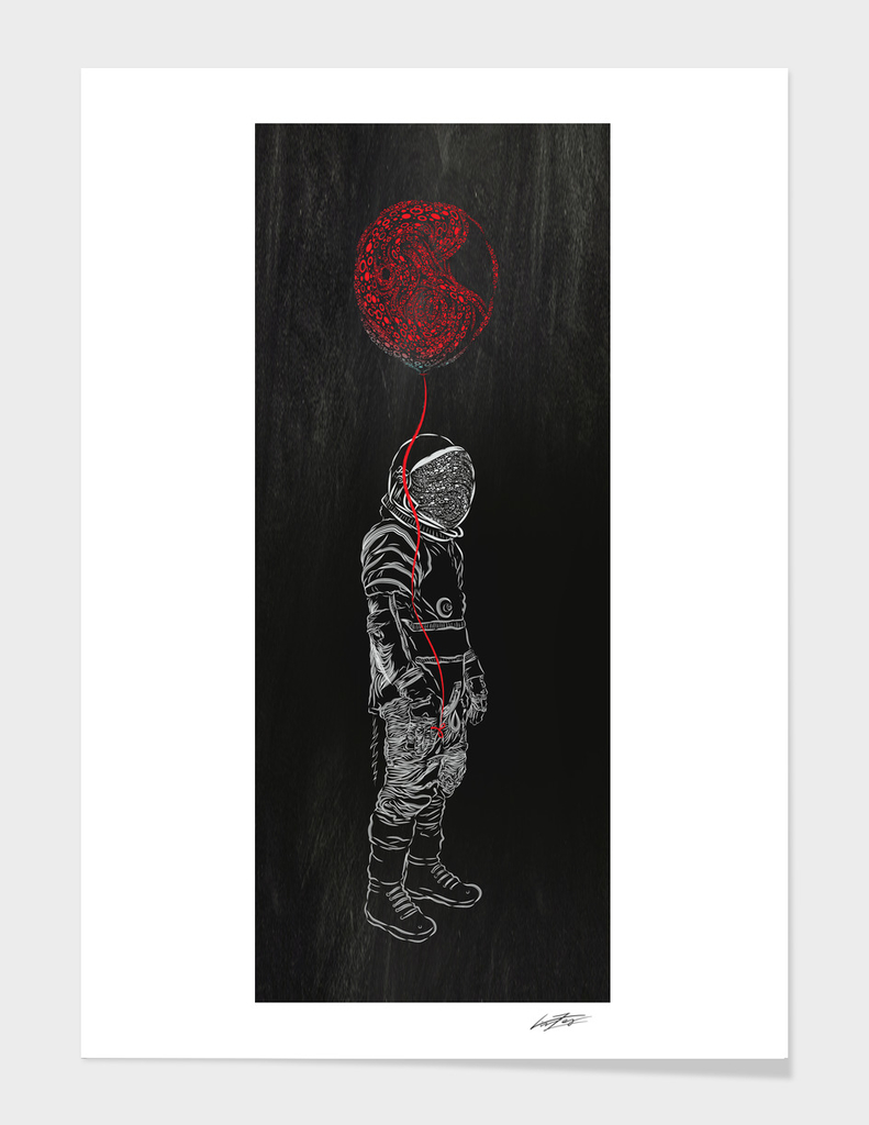 astronaut balloon III