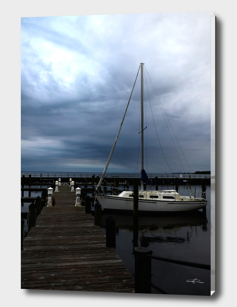 At Port in Edenton Bay