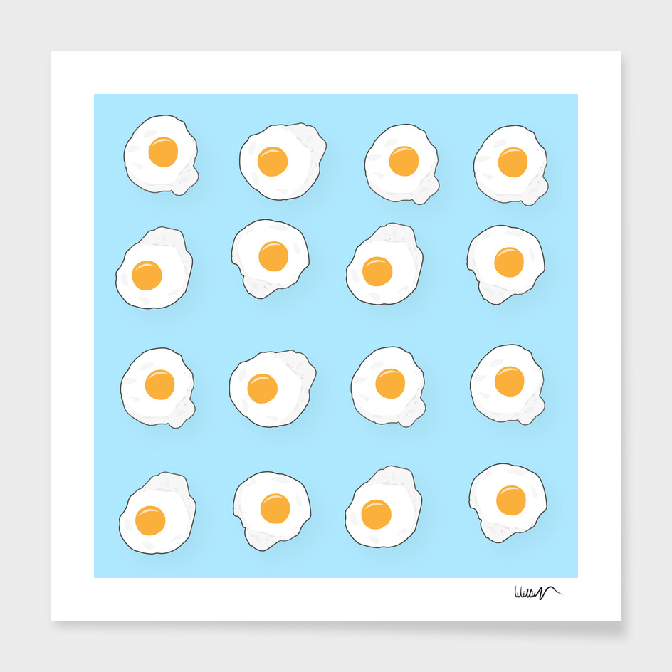eggs vector paint